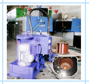 Centrifugal Cleaner For Copper Wire Drawing